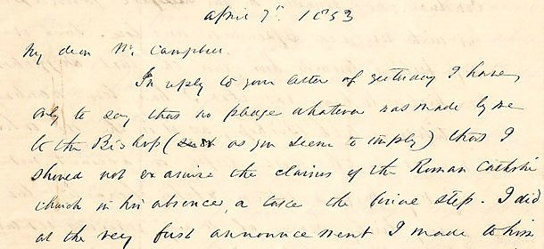 Letter found on eBay is rare correspondence of Paulist founder