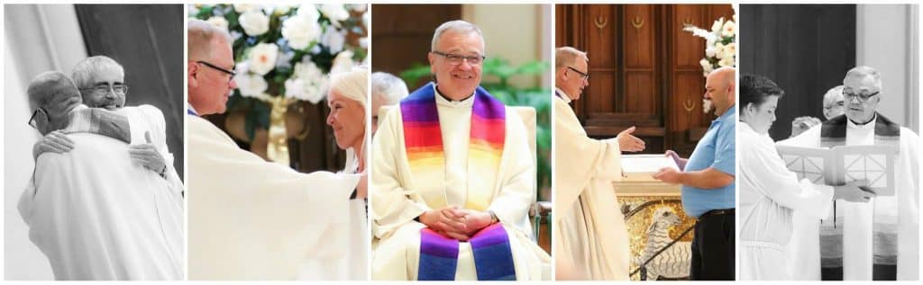 Glimpses from the Mass celebrating Paulist Fr. John Ardis' 25th ordination anniversary.