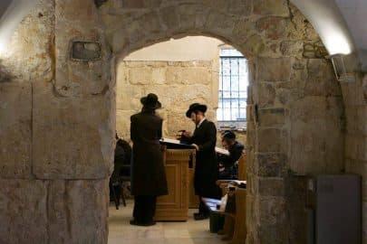 At David's Tomb