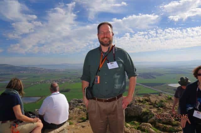 Paulist Fr. Rich Andre on Mt. Precipice