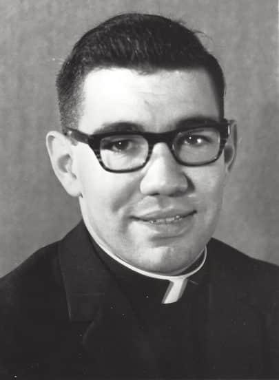 Paulist Fr. Paul Lannan in 1966