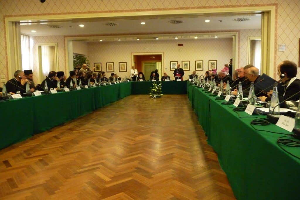 Catholic-Orthodox dialogue in Chieti, Italy