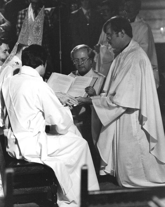 Ordination of Paulist Fr. Mike Martin