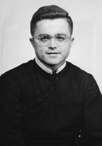 Fr. Vinny McKiernan, C.S.P. as a young priest.