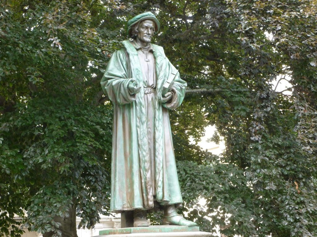 Melanchthon statue in Worms