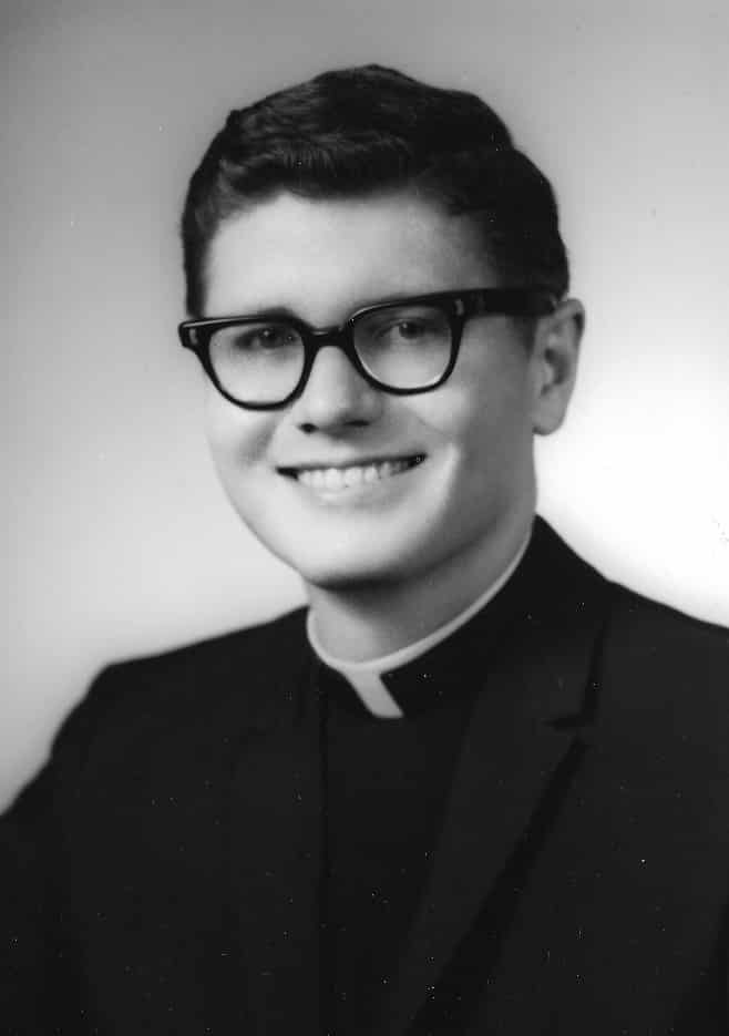 Bernard Campbell, C.S.P., as a young Paulist