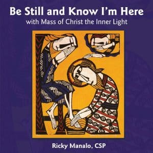 The cover of Fr. Ricky's most recent album.