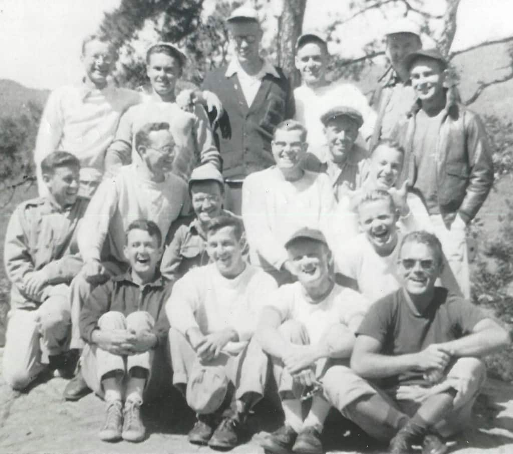 Class of 1956 at Lake George